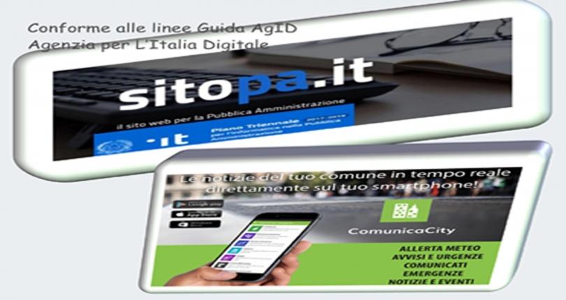 SitoPA - Sito web per la Pubblica Amministrazione e App Comunicacity